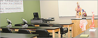 McPherson science classroom