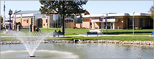 View of Reno County campus