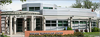 Front view of Shears Technology Center