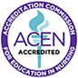 Accredited by Accreditation Commission for Education in Nursing (ACEN).